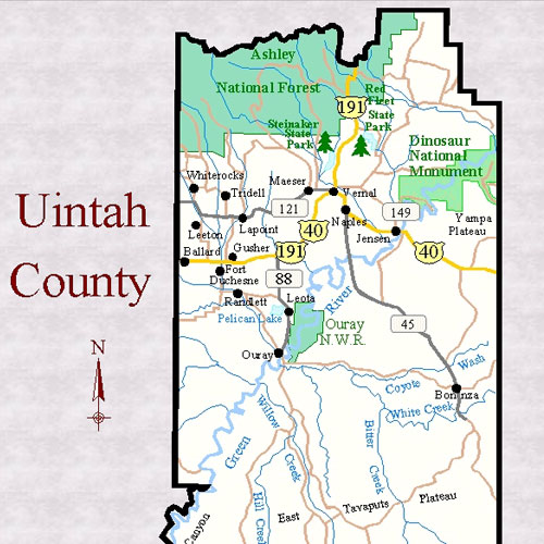 Maps | Uintah County Economic Development